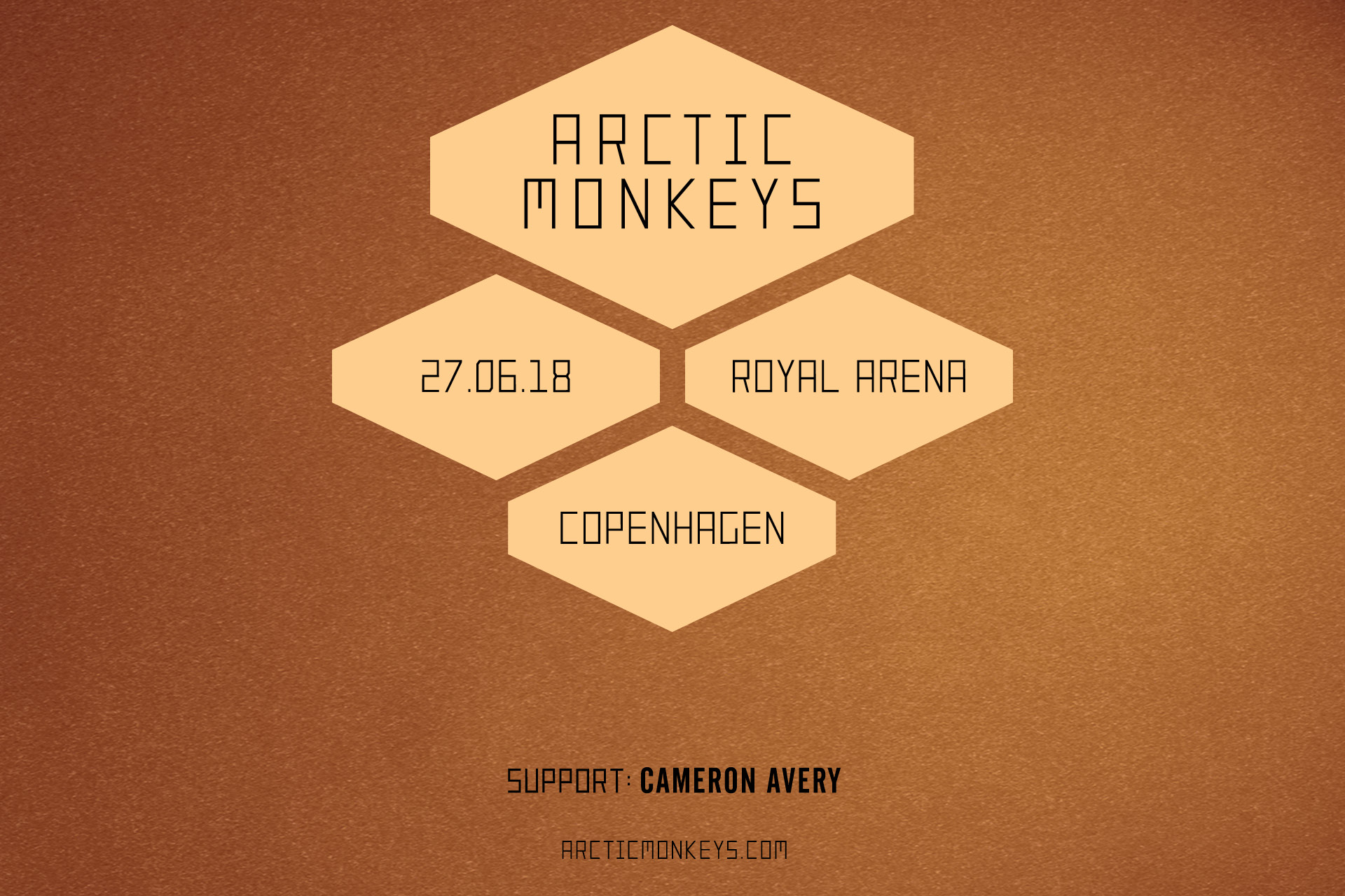 Arctic Monkeys til Royal Arena