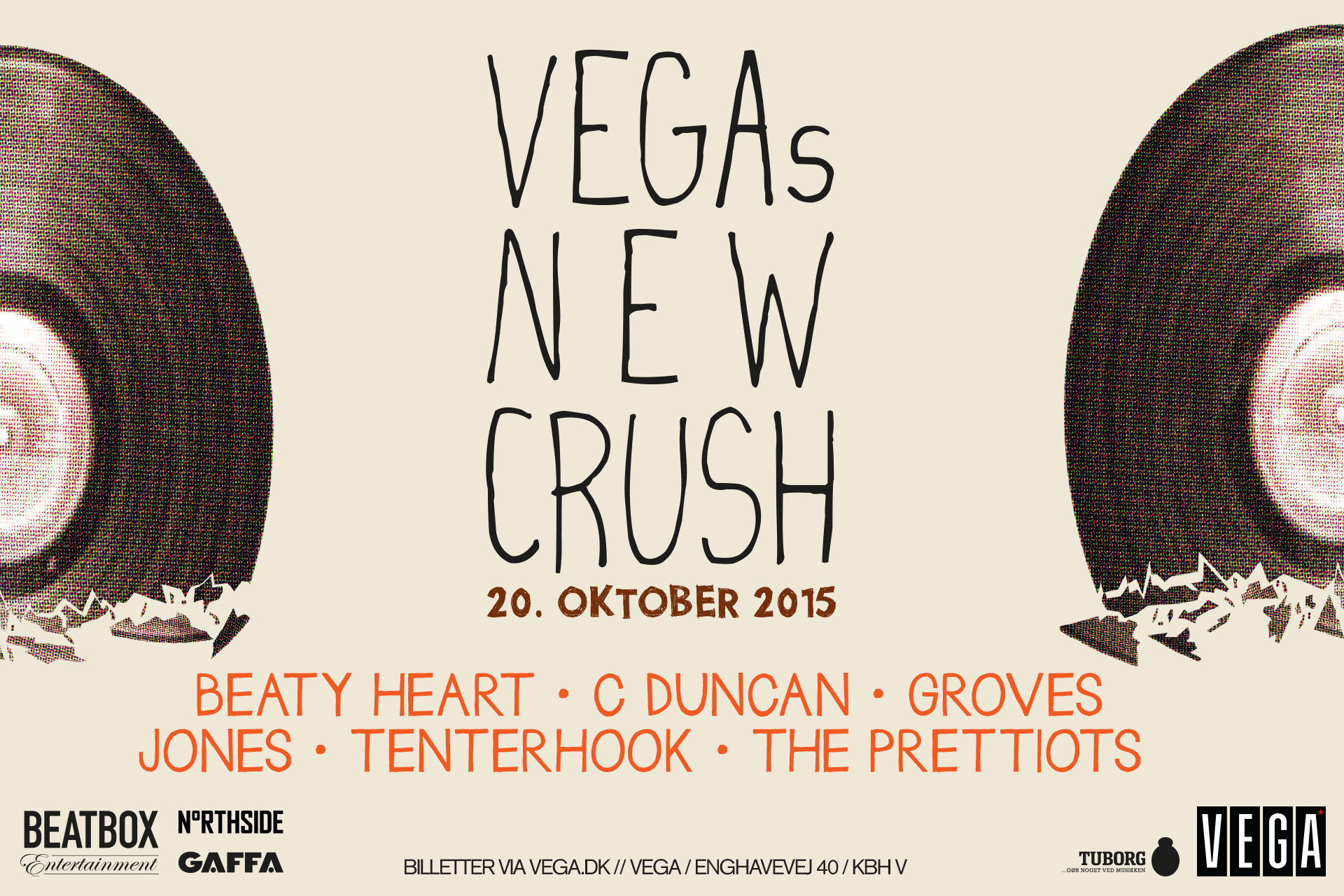 VEGAs New Crush - 20. oktober 2015